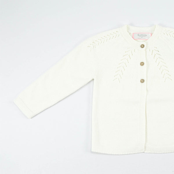 SweetHoney - Cardigan - Winter White
