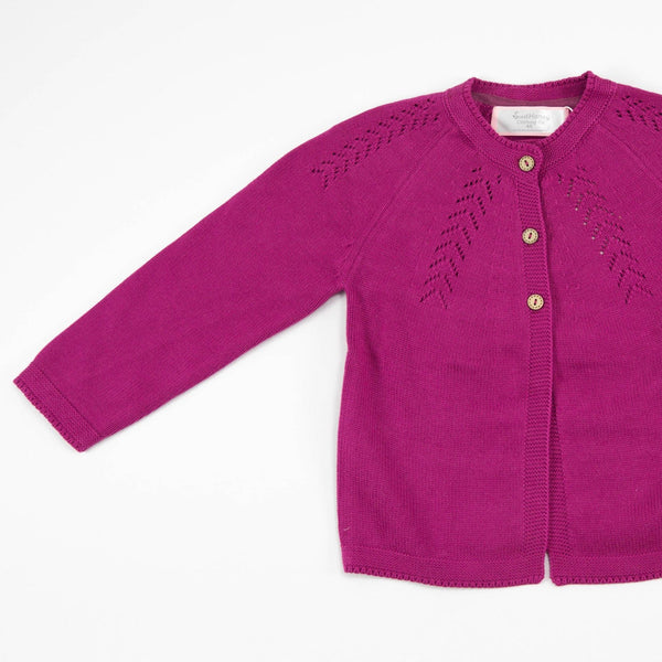 SweetHoney - Cardigan - Perfect Plum