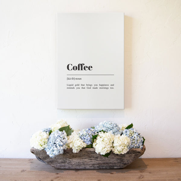 Smallwoods Coffee Canvas Art Print