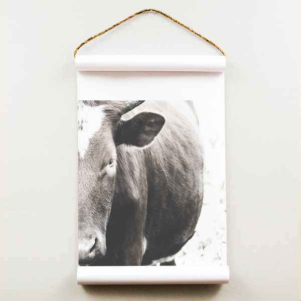 Wall Scroll - Cow - Multiple Sizes