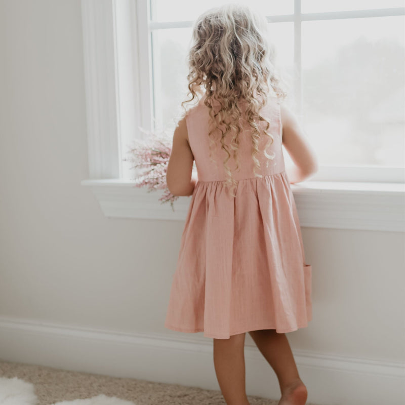 SweetHoney - Molly Dress - Blush