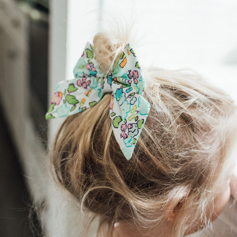SweetHoney - Lovely Bow - Retro Floral