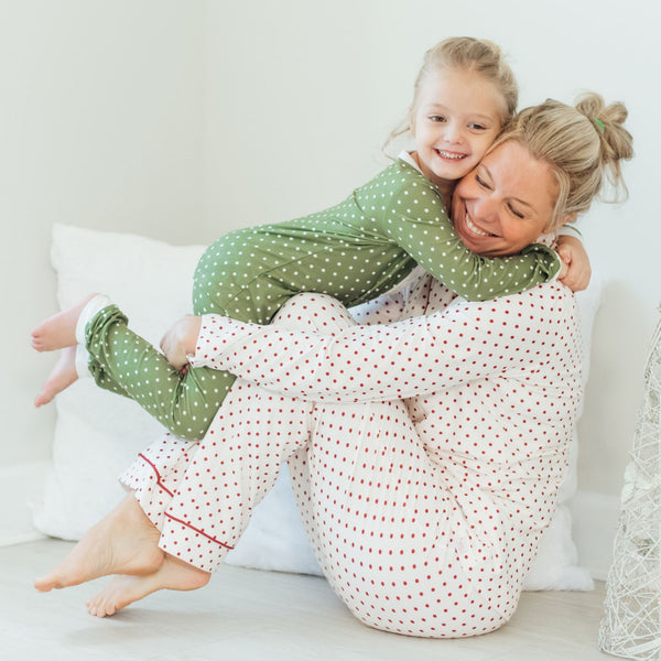SweetHoney - Women's Cozy PJs - Winter Berry