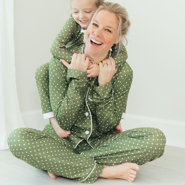 SweetHoney - Women's Cozy PJs - Garland
