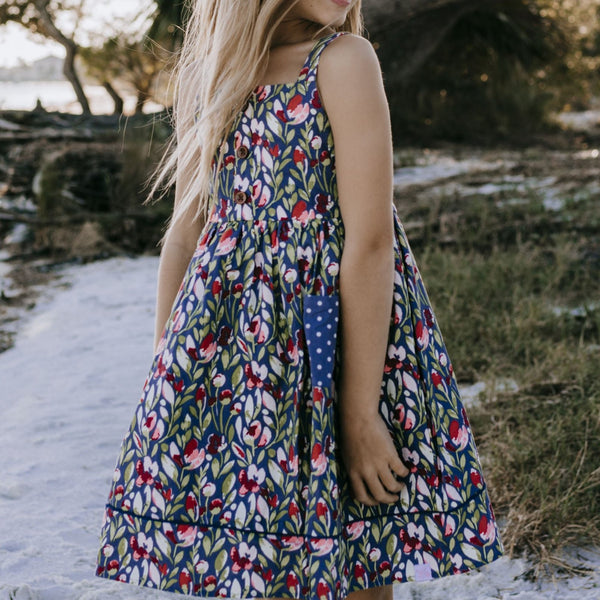 SweetHoney - Annie Dress - Forest