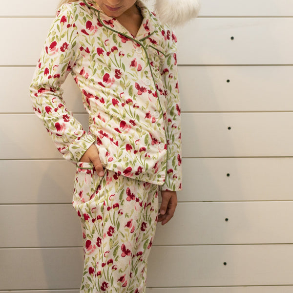 SweetHoney - Girls Cozy PJs - Fresh Air