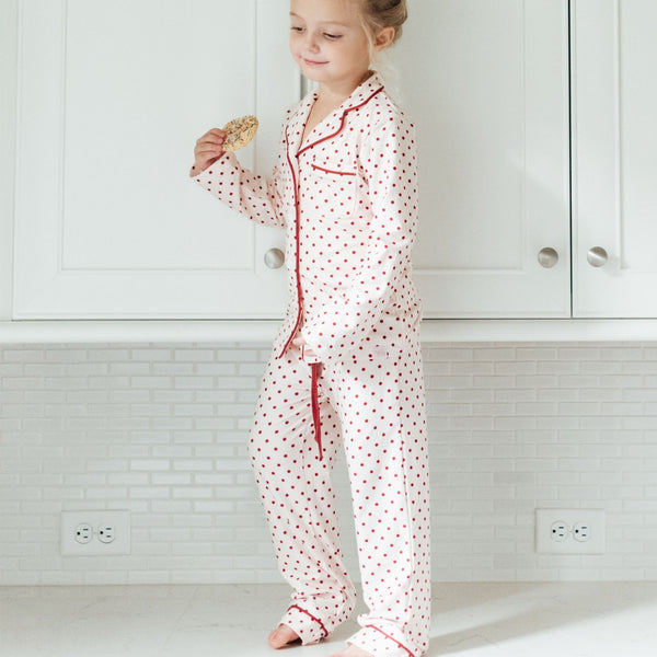 SweetHoney - Girls Cozy PJs - Winter Berry