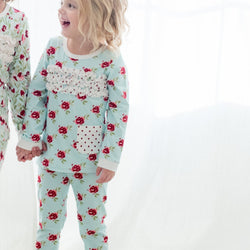 SweetHoney - Dreamer 2-Piece Loungewear - Sweet Flower