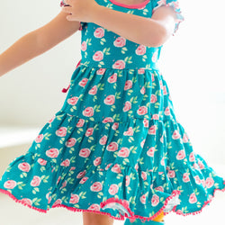 SweetHoney - Flair Dress - Little Flutters