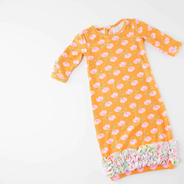 SweetHoney - Dreamer Infant Gown - Mandarin