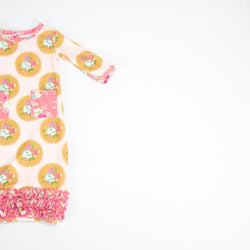 SweetHoney - Dreamer Infant Gown - Pillow Fight