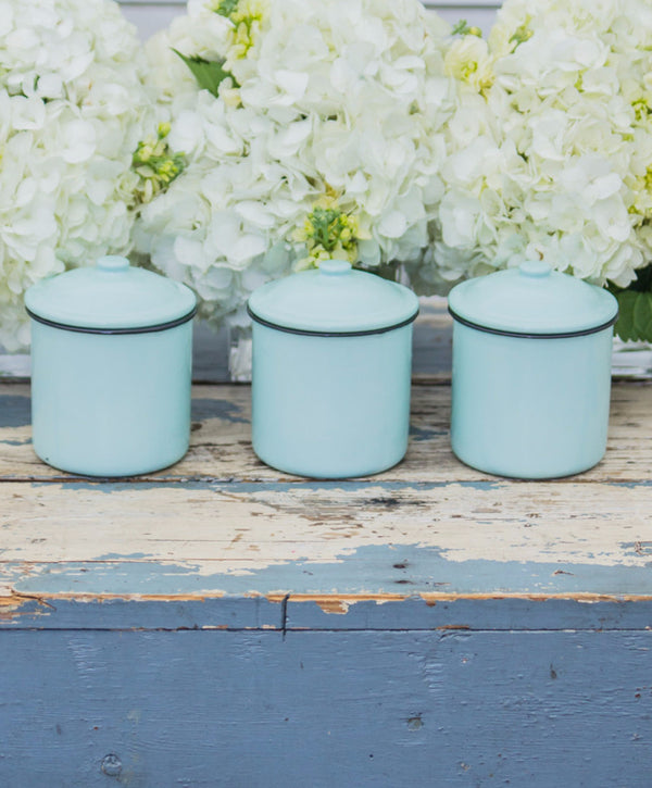 Smallwoods - Resale - Enamelware Canister  - 1