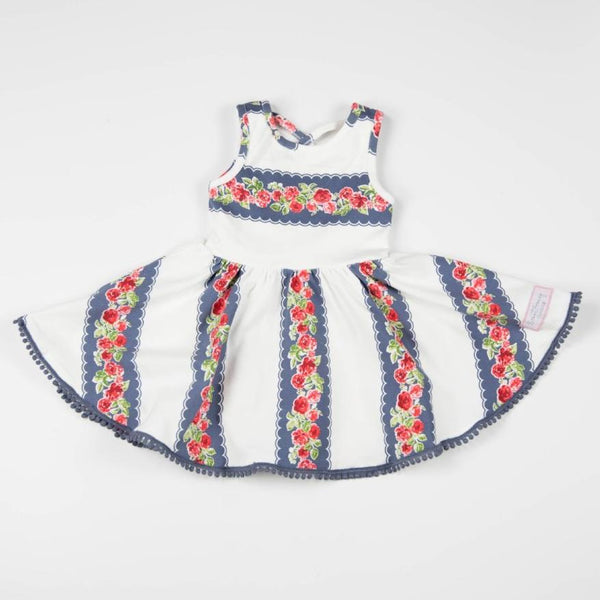 SweetHoney - Flair Dress - Noble Vine