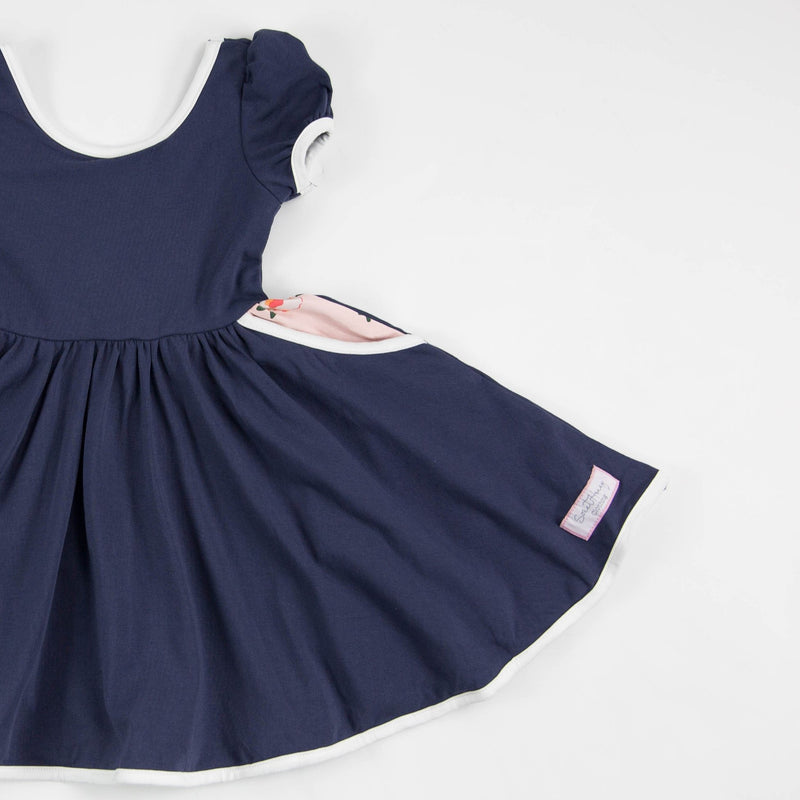 SweetHoney - Flair Dress - Sea