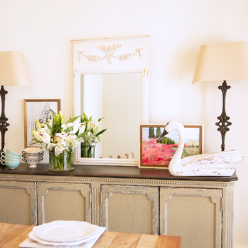 Garland Wood-Framed Mirror