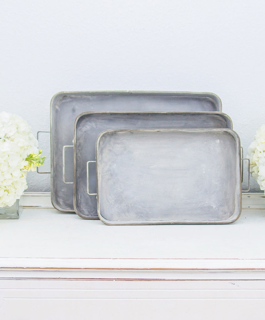 Smallwoods - Resale - Metal Box Trays (Set of 3)  - 1