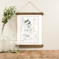 Canvas Hanging Print - Great Britain [CLOSEOUT]