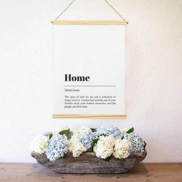 Smallwoods Home Word Wall Decor