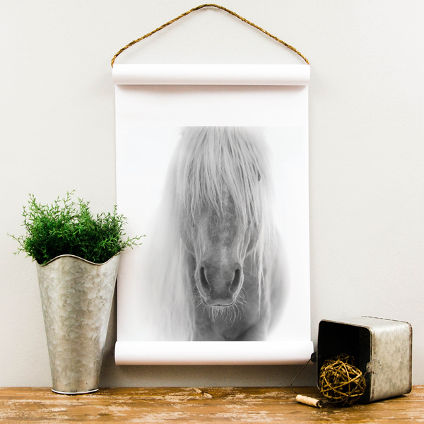 Wall Scroll - Horse - Multiple Sizes