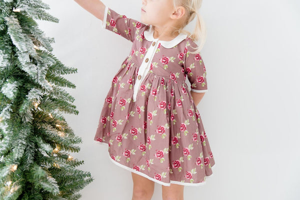 SweetHoney - Clara Dress - Sweet Chocolate