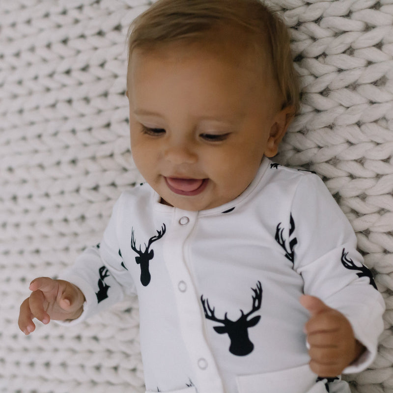 Everyday Essentials - Infant Gown - Woodsy Deer