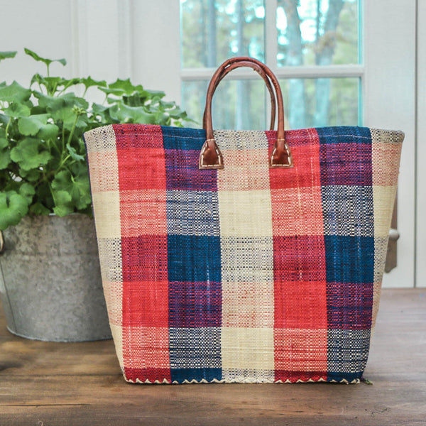 Ocean Isle Raffia Totes - Multiple Colors Available