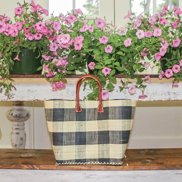 Ocean Isle Raffia Totes - Multiple Colors Available - Clearance