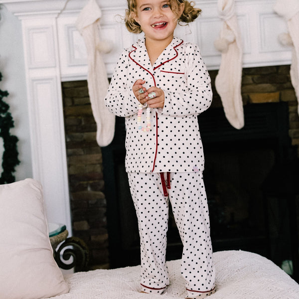 SweetHoney - Girls Cozy PJs - Ink