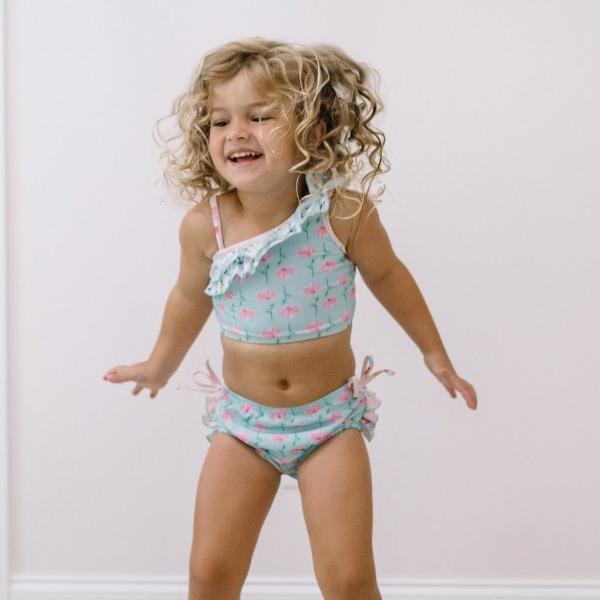 SweetHoney - Mia Crop Tankini - Current