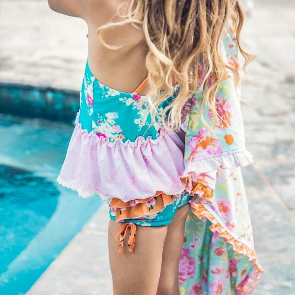 SweetHoney - Maddi Tankini - Sunset FINAL SALE