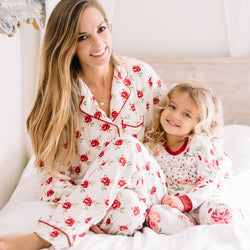 SweetHoney - Women's Cozy PJs - Barn