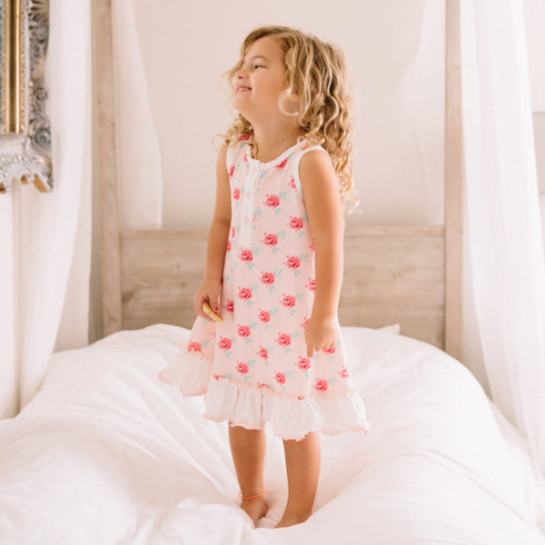 SweetHoney - Dreamer Simple Gown - Cheeky Rose