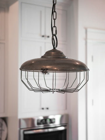 Rustic Feeder Pendant Light