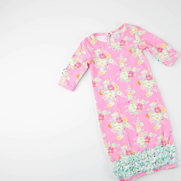 SweetHoney - Dreamer Infant Gown - Prism Pink