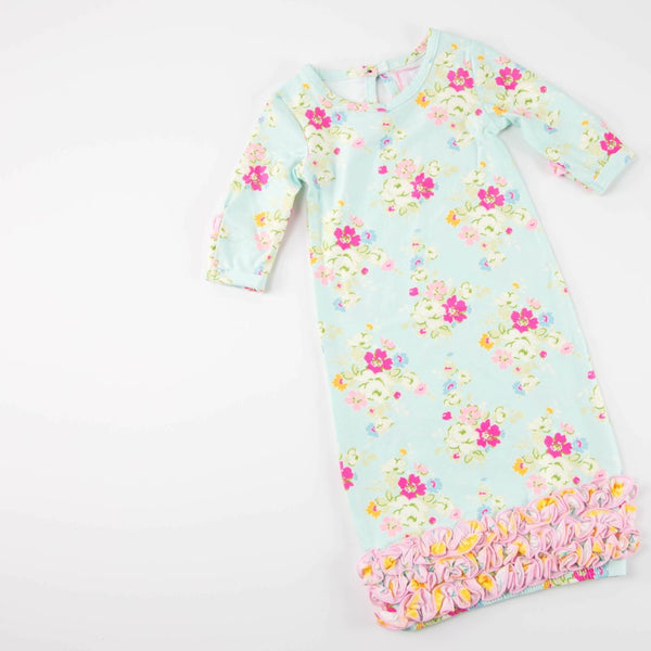 SweetHoney - Dreamer Infant Gown - Sweet Roses