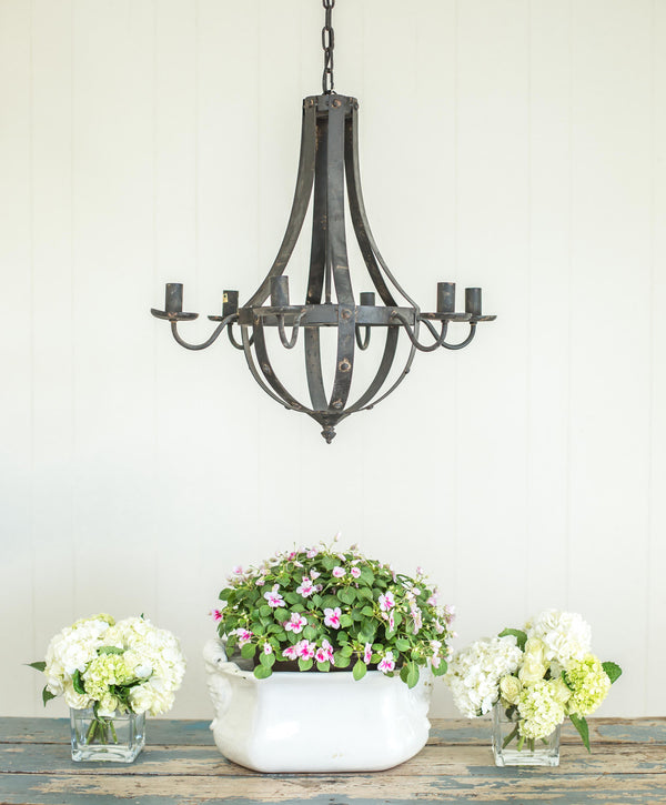 Smallwoods - Resale - Iron Chandelier  - 1
