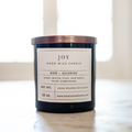 12 oz Wood Wick Candle - Joy
