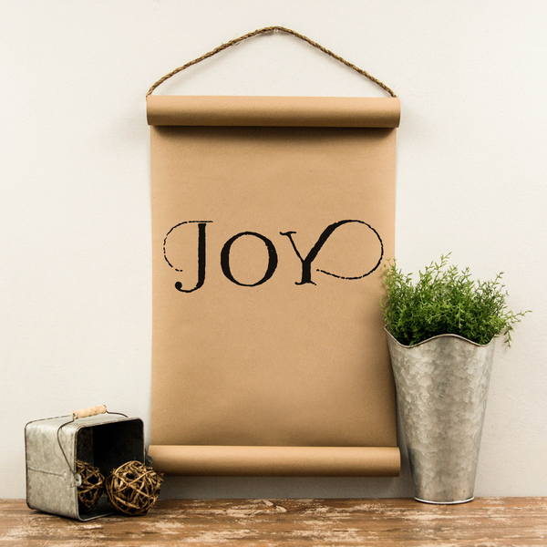 Wall Scroll - Joy - Multiple Sizes
