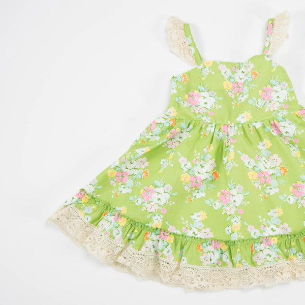 SweetHoney - Lacey Dress - Garden