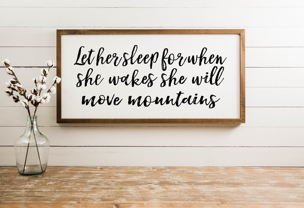 Let Her Sleep [closeout]