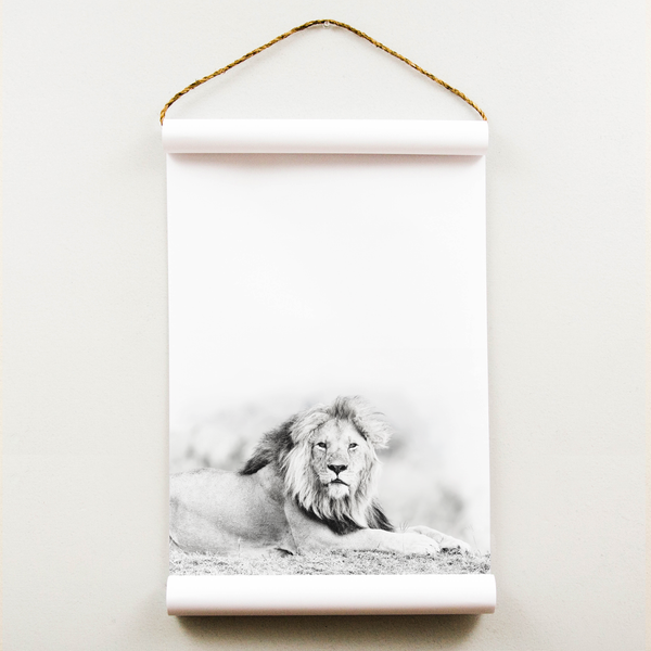 Wall Scroll - Lion - Regular Size
