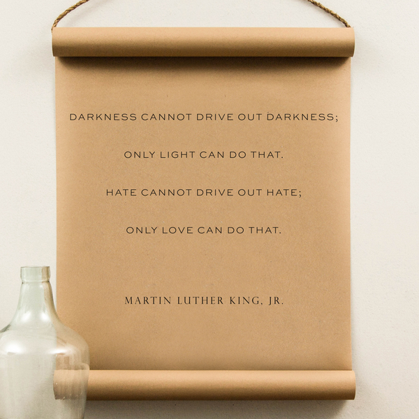 Wall Scroll - MLK Jr.