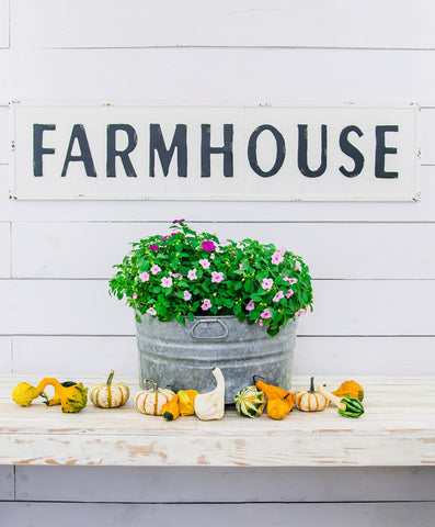 Smallwoods - Resale - Metal Farmhouse Sign (Black Friday)