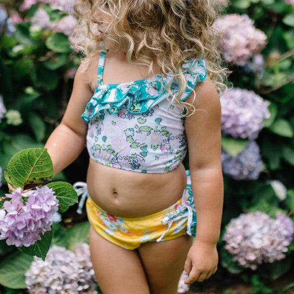 SweetHoney - Mia Crop Tankini - Vacation FINAL SALE
