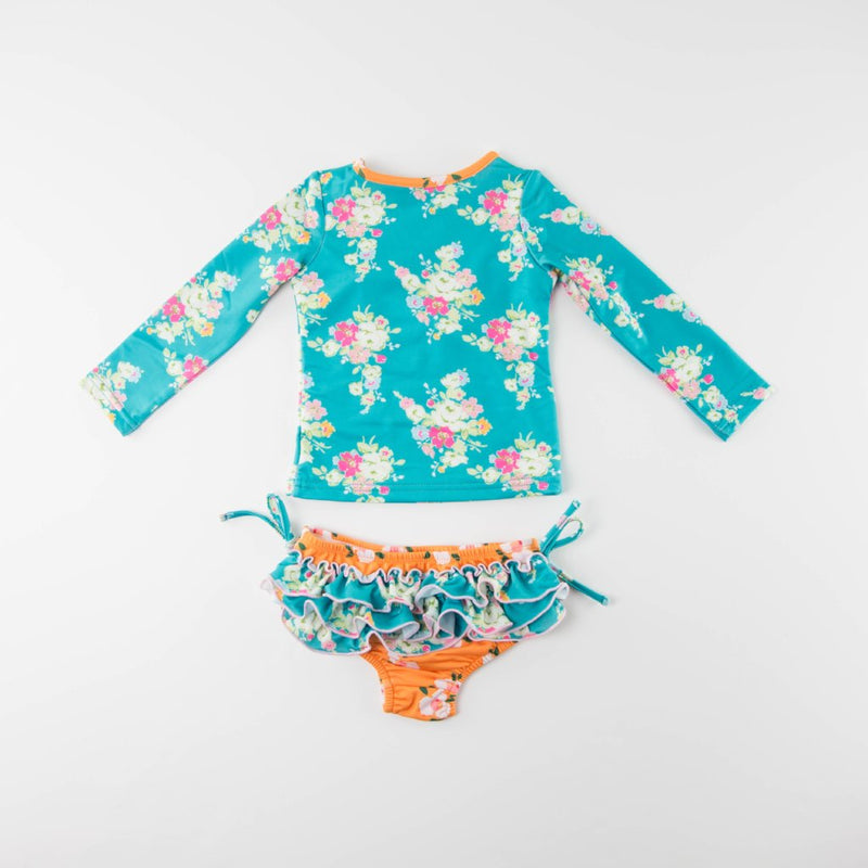 SweetHoney - Micah Rash Guard Set - Sunset FINAL SALE