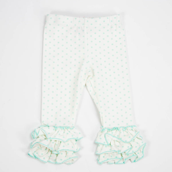 SweetHoney - Nelly Leggings - Aqua Dot