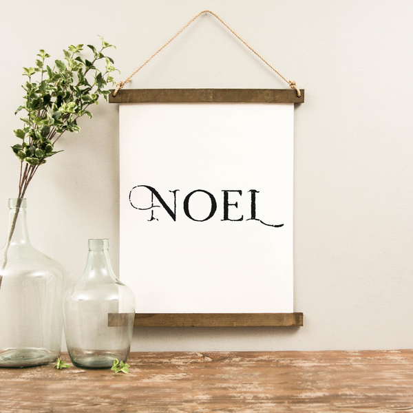 Canvas Hanging Print - Noel