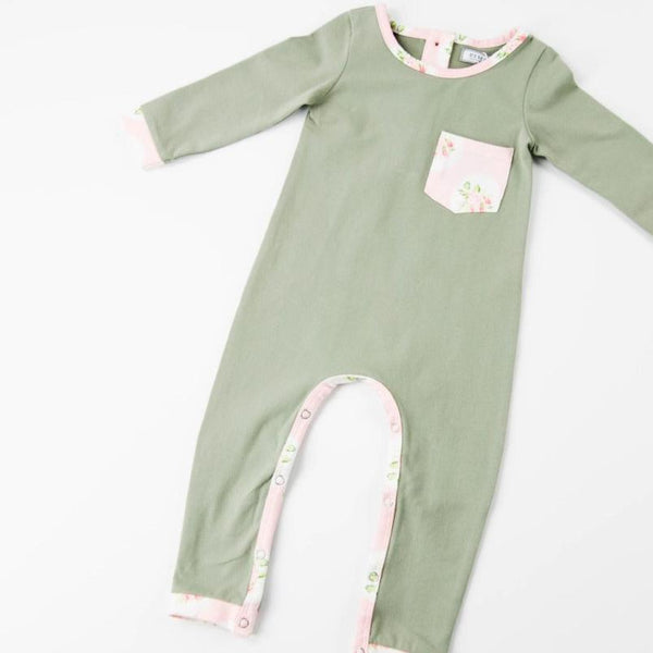 Everyday Essentials - Layette - Olive Floral
