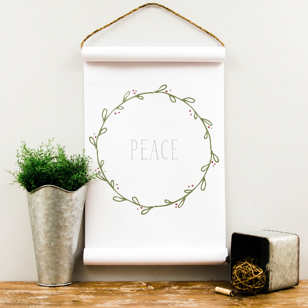 Wall Scroll - Peace