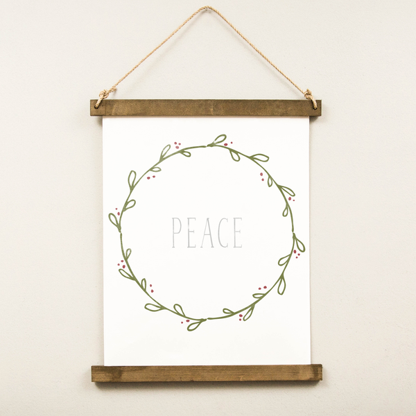 Canvas Hanging Print - Peace [HOLIDAY]